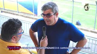 Eccellenza Girone B Valdarno-S.Gimignano 3-4
