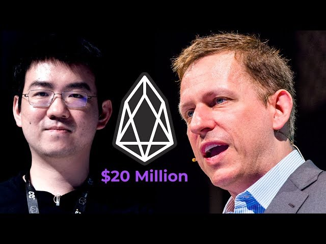 Peter Thiel and Jihan Wu Invest In EOS | This Is Huge