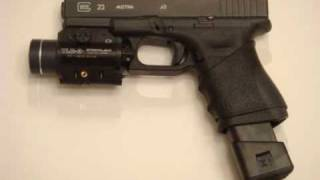 glock 23 19 25 32 38 mods modifications and accessories advantage arms 22lr conversion