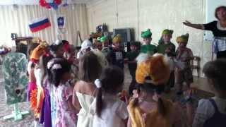Красная шапочка на новый лад Детский сад (2014г)