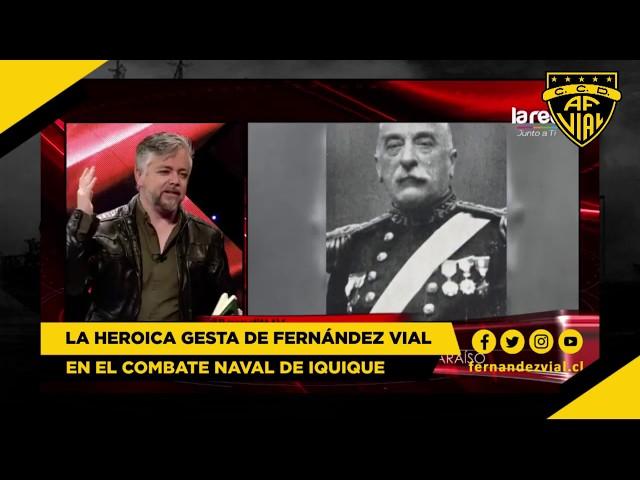 La heroica gesta de Fernández Vial en el Combate Naval de Iquique