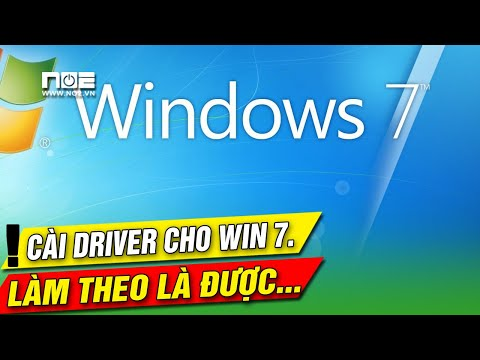 Driver cho win 7 64 bit hướng dẫn cài đặt