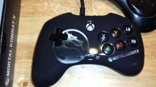 Mortal Kombat X Xbox One/360 GamePad by PDP Review and Gameplay