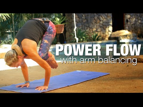Power Flow with Arm Balancing Yoga Class - Five Parks Yoga