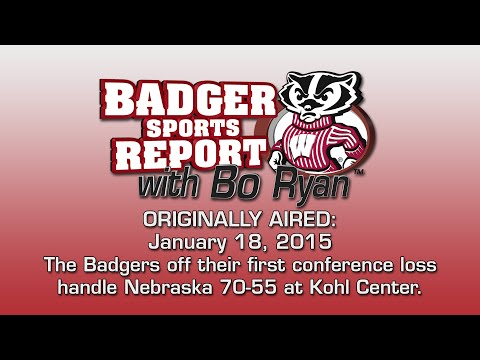 Badger Sports Report with Bo Ryan 01/18/15
