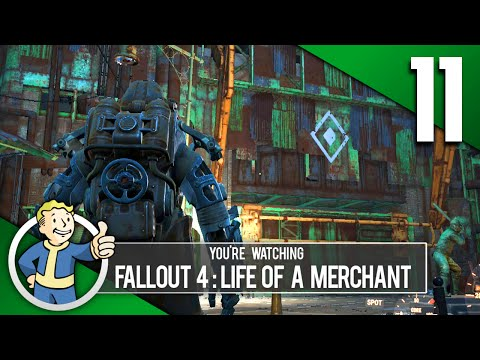 DIAMOND CITY STOP! - Fallout 4: Life Of A Merchant Roleplay Part 11 (PC | Mods)