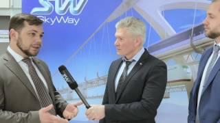 Одесситам показали транспорт будущего – SkyWay