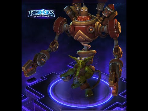 Heroes of the storm HOTS #82 Gazlowe Mercenary Master