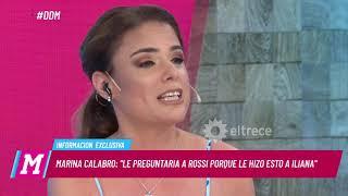 Marina Calabró confesó que le diría a Rossi si lo ve hoy en día