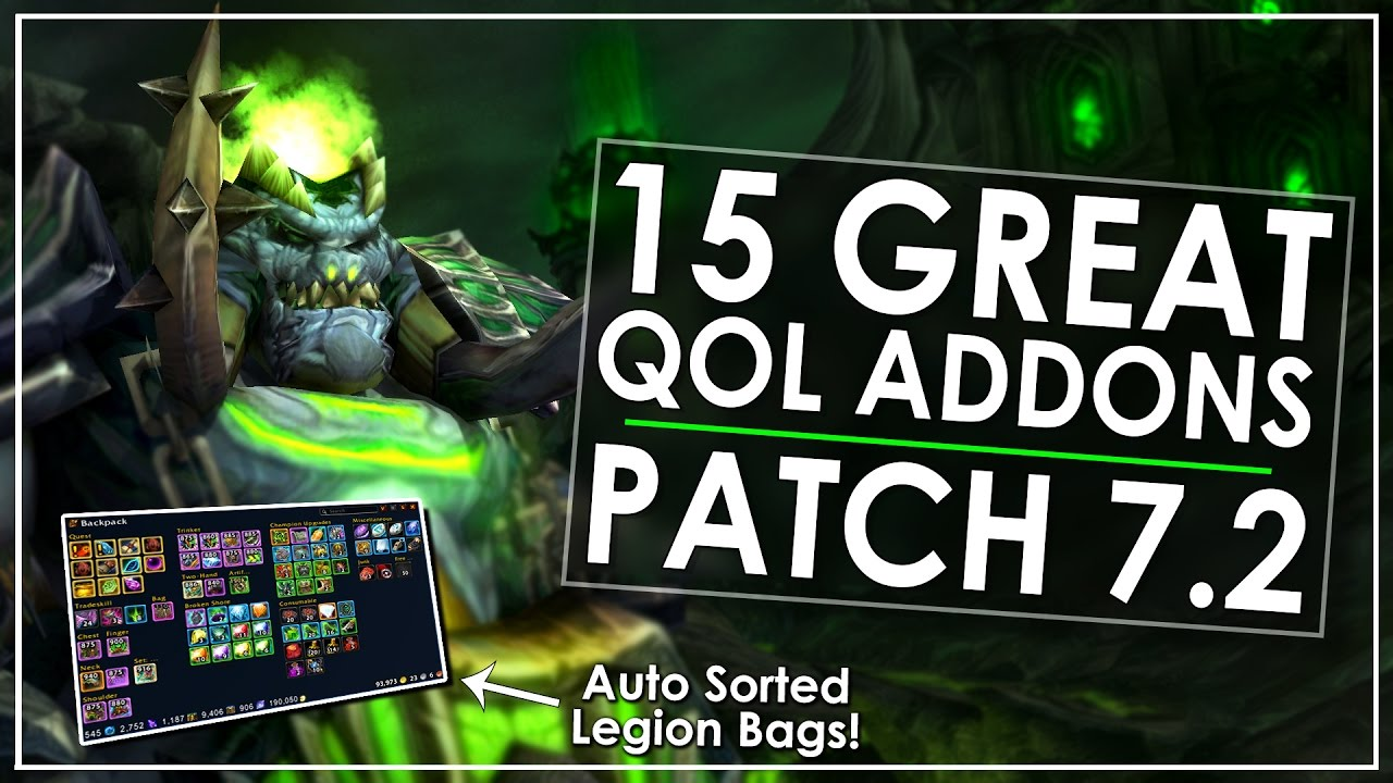Legion: 15 Quality of Life Addons That I Wouldn't Play Without