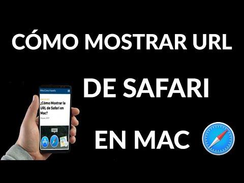 Cómo Mostrar la URL de Safari en Mac