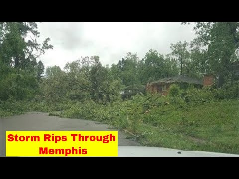 May 27, 2017 Memphis Storm Results!  Checking on Frayser.