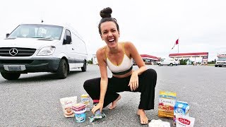 VAN LIFE // What Vegans Eat on a Road Trip