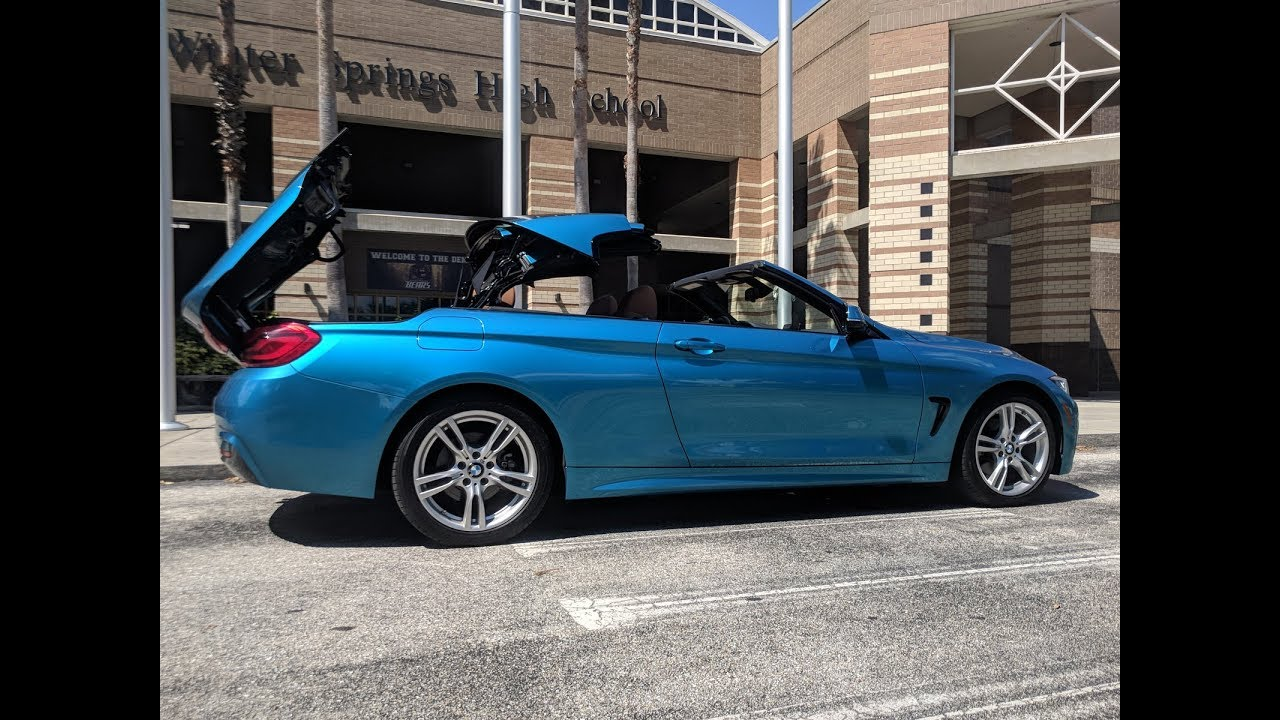 2018 bmw 430i convertible review is the hard top worth. Black Bedroom Furniture Sets. Home Design Ideas