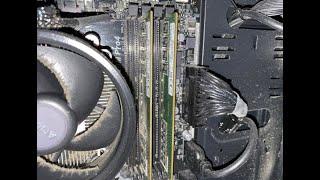 대방동컴퓨터수리 로딩이계속되요 메모리접촉불량 윈도우10…