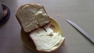 Как испечь хлеб. Вика печет хлеб в хлебопечке LG! Видео для детей
