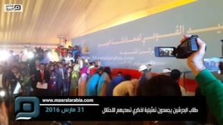 بالفيديو| طلاب البدرشين يجسِّدون مشاهد تمثيلية لذكرى تصديهم للاحتلال