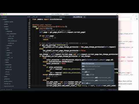 django CMS - Page Extensions