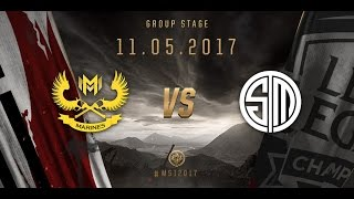 TSM vs GAM MSI 2017 day 1 11/05/2017
