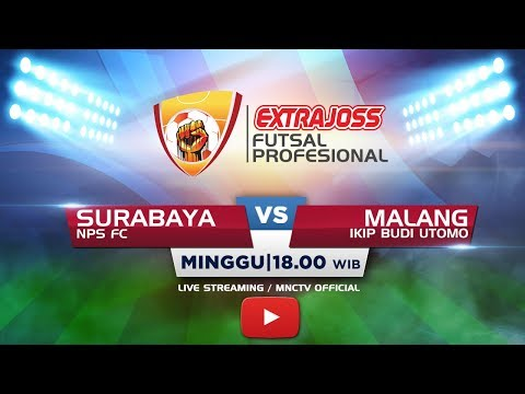 NPS FC (SURABAYA) VS IKIP BUDI UTOMO (MALANG) (FT:1-2) - Extra Joss Futsal Profesional 2018