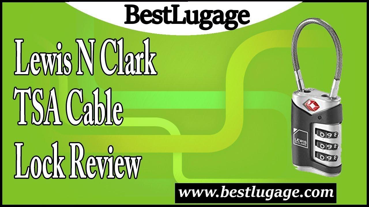 864d00a14ca6 Lewis N Clark TSA Cable Lock Review