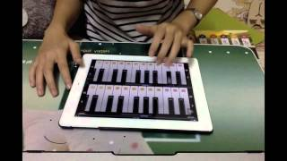 Beautiful Now - Zedd ft. Jon Bellion | Linh S | #Ipad Cover