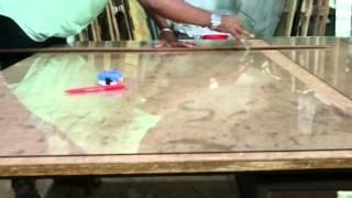 Glass cutting speed.
