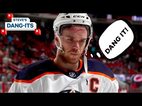 NHL Worst Plays of The Year - Day 19: Edmonton Oilers Edition | Steve's Dang Its