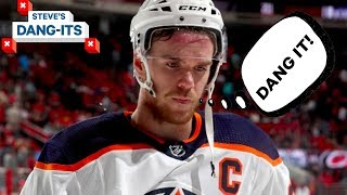 NHL Worst Plays of The Year - Day 20: Edmonton Oilers Edition | Steve's Dang Its