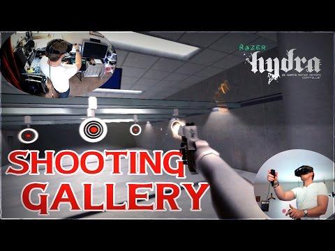 Sixense SHOOTING RANGE - Razer Hydra Virtual Reality Motion Controllers