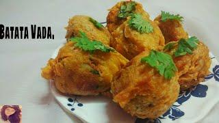 गुजराती बटाटा वड़ा- Gujarati Batata Vada    Quick & Easy Fast Food Recipes