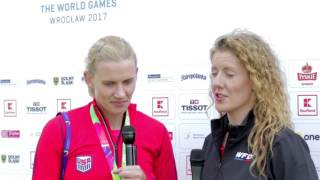 Team USA's Sandy Jorgensen at The World Games 2017