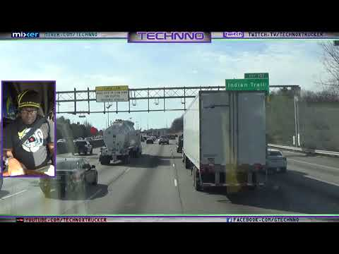 Trucking: Driving through Atlanta I 85 SB tto i 20 WB via 285 W