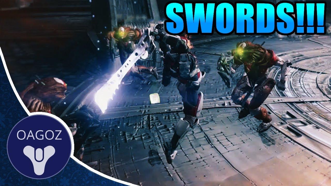 destiny taken king how to get sword heavy weapon