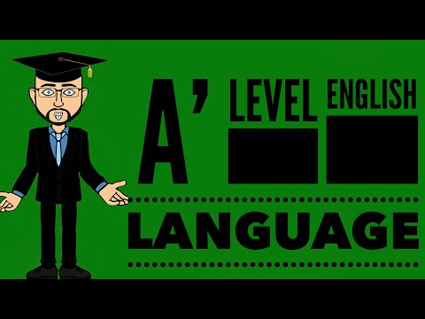 A' Level English Language: Understanding A04
