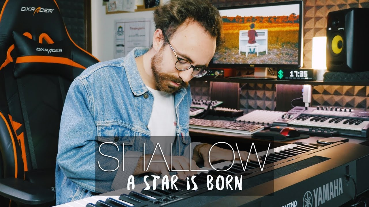SHALLOW - Lady Gaga & Bradley Cooper - A Star Is Born (Piano Cover