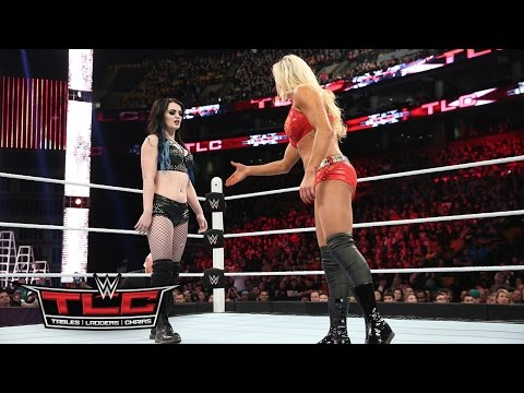 WWE Network: Charlotte vs. Paige: WWE TLC 2015