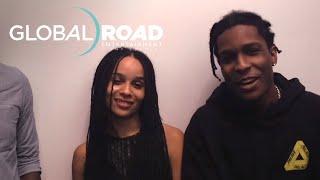 "Dope   ""A$AP Rocky, Zoë Kravitz, Rick Famuyiwa"" Exclusive   Global Road Entertainment"