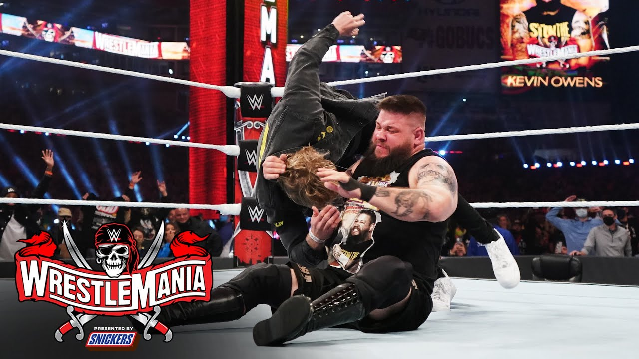 WWE WrestleMania 37: Logan Paul Turns on Sami Zayn, Gets ...