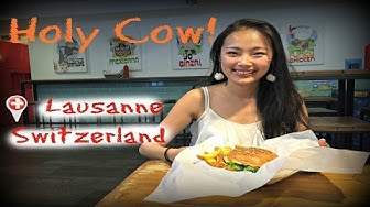 Lausanne | Holy Cow! | The best burger in Switzerland