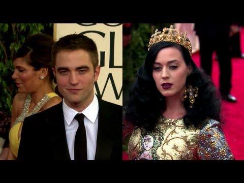 Robert Pattinson and Katy Perry Crash Wedding Rehearsal Together