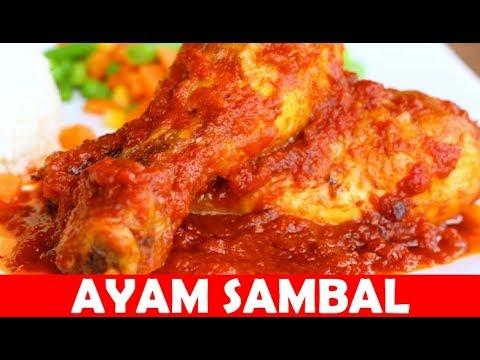 Resepi Ayam Masak Sambal | Cara Masak Ayam Masak Sambal Yang Sangat Sedap