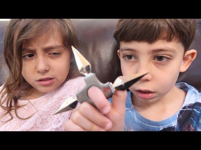 أخطر سبنر - أبو سكاكين!!
