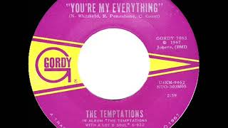 1967 Temptations - You're My Everything (mono)