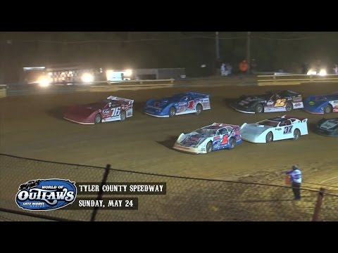 Highlights: World of Outlaws Late Model Series Tyler County Speedway May 24th, 2015
