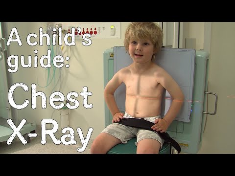 A child's guide to hospital: X-ray - Chest