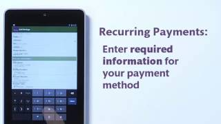 Manage Auto Pay -Android