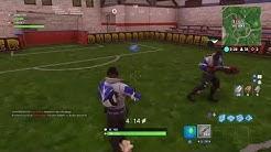 5 Fußballfelder in Fortnite! Battle Pass Herausforderung