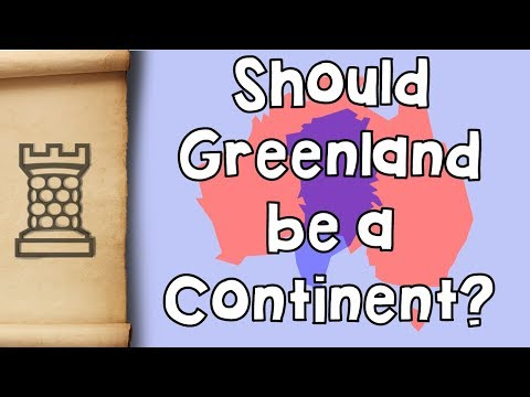 Why is Australia a Continent and Greenland is Not?
