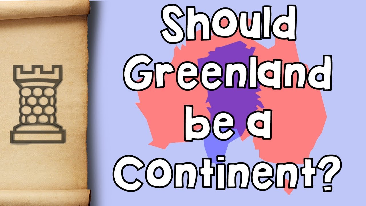 Why Is Australia A Continent And Greenland Is Not YouTube - Why is greenland not a continent